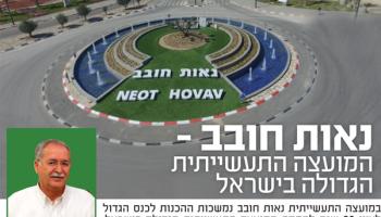 נאות חובב - המועצה התעשייתית הגדולה בישראל